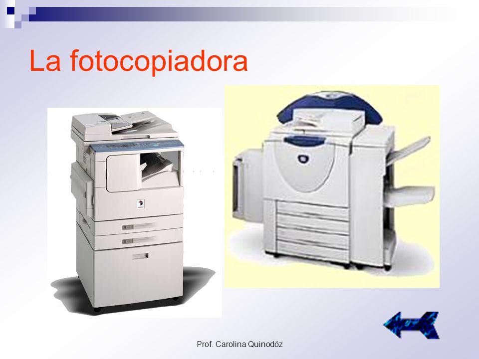 Prof. Carolina Quinodóz Las Espuelas