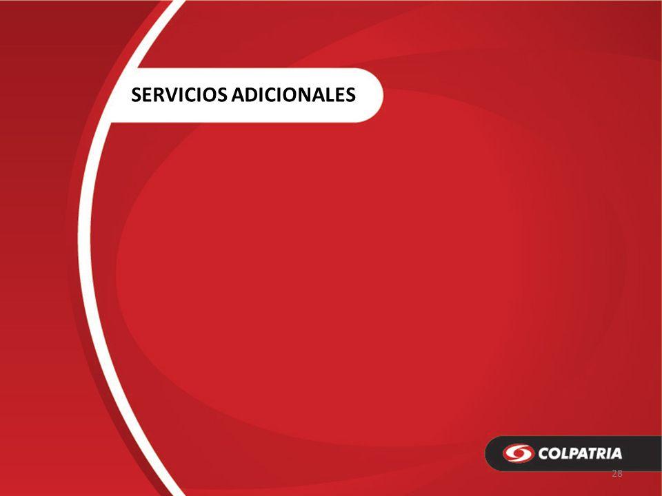 SERVICIOS ADICIONALES 28