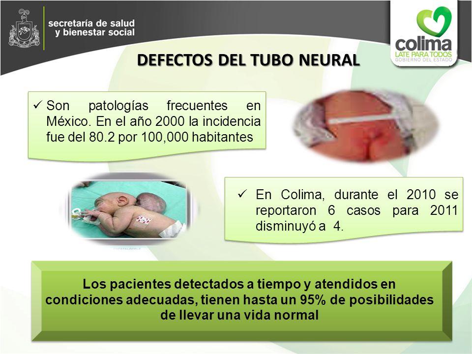 Son patologías frecuentes en México. En el año 2000 la incidencia fue del 80.2 por 100,000 habitantes Los pacientes detectados a tiempo y atendidos en