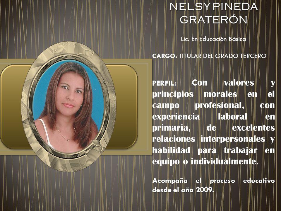 NELSY PINEDA GRATERÓN Lic.