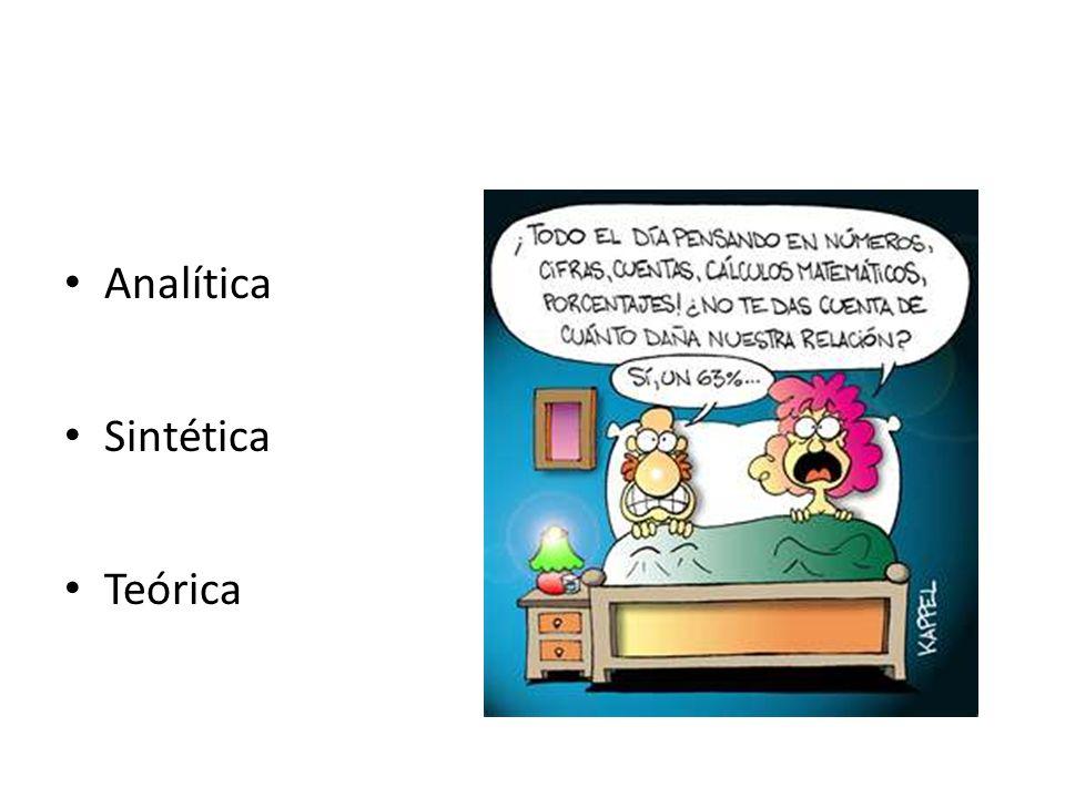 Analítica Sintética Teórica