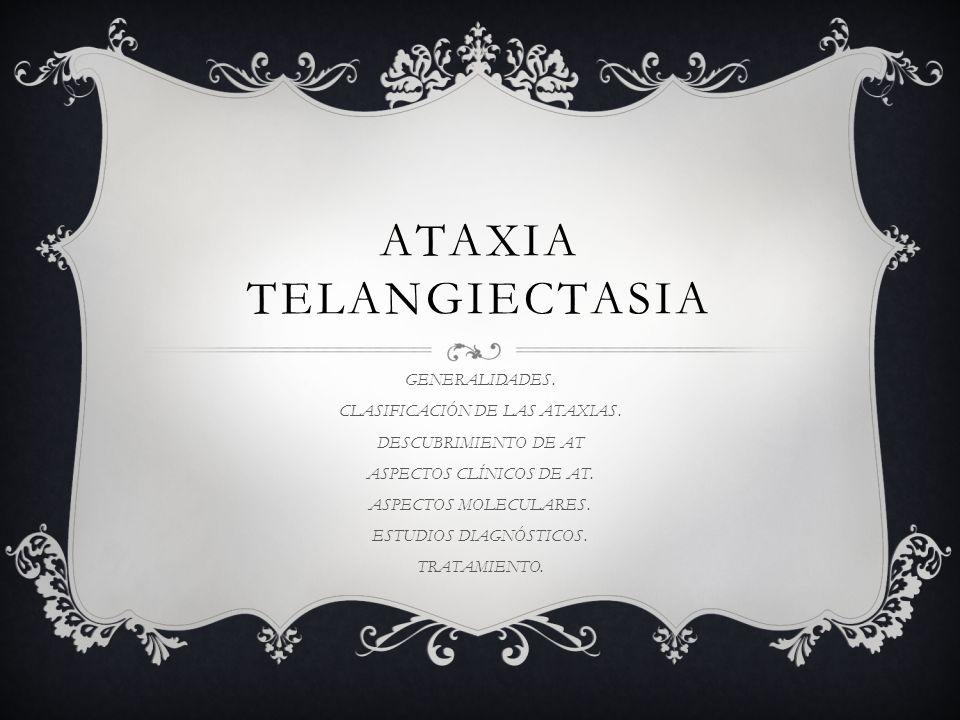 ATAXIA A : negativo o sin TAXIA: orden Sindrome de desequilibrio o inestabilidad de la marcha y disminución en grados variables de la capacidad de coordinción de movimientos.