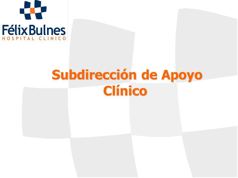 Subdirección de Apoyo Clínico