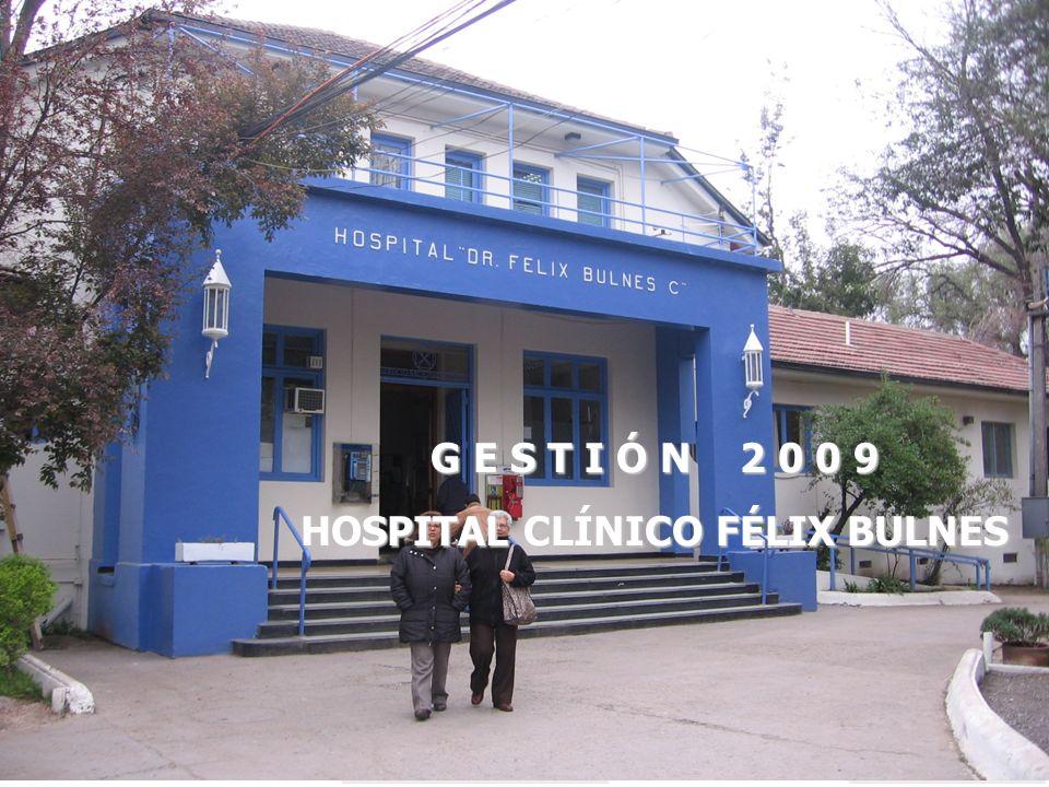 G E S T I Ó N 2 0 0 9 HOSPITAL CLÍNICO FÉLIX BULNES