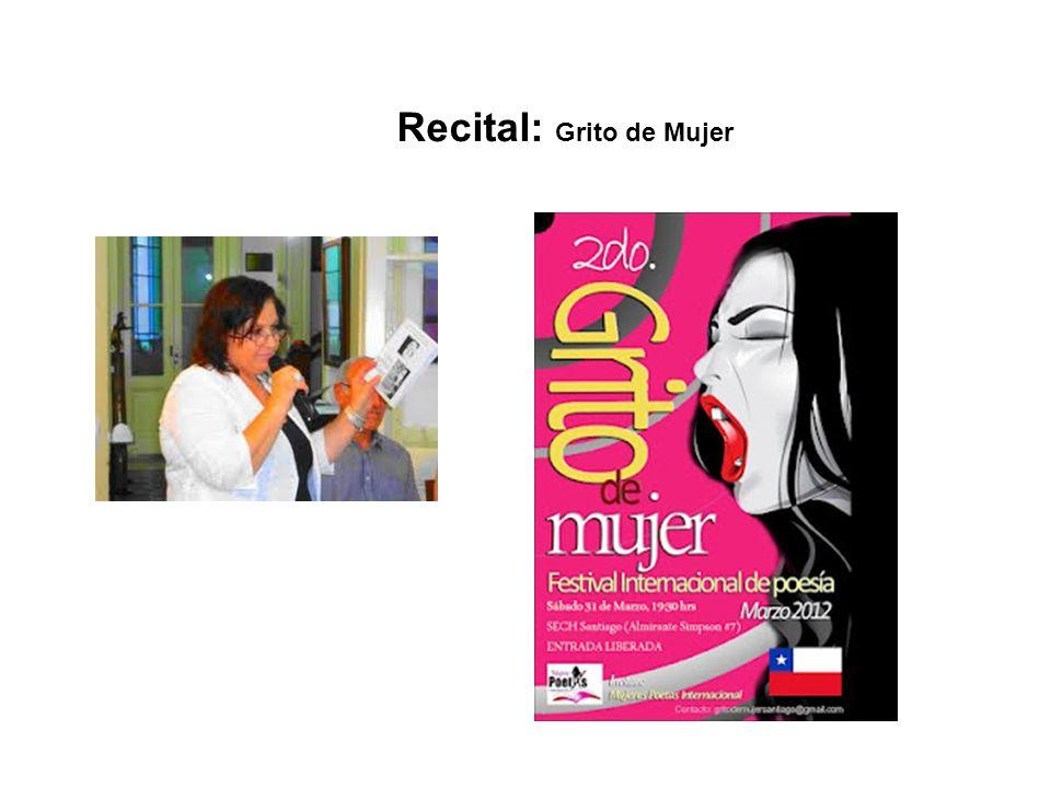 Recital: Grito de Mujer