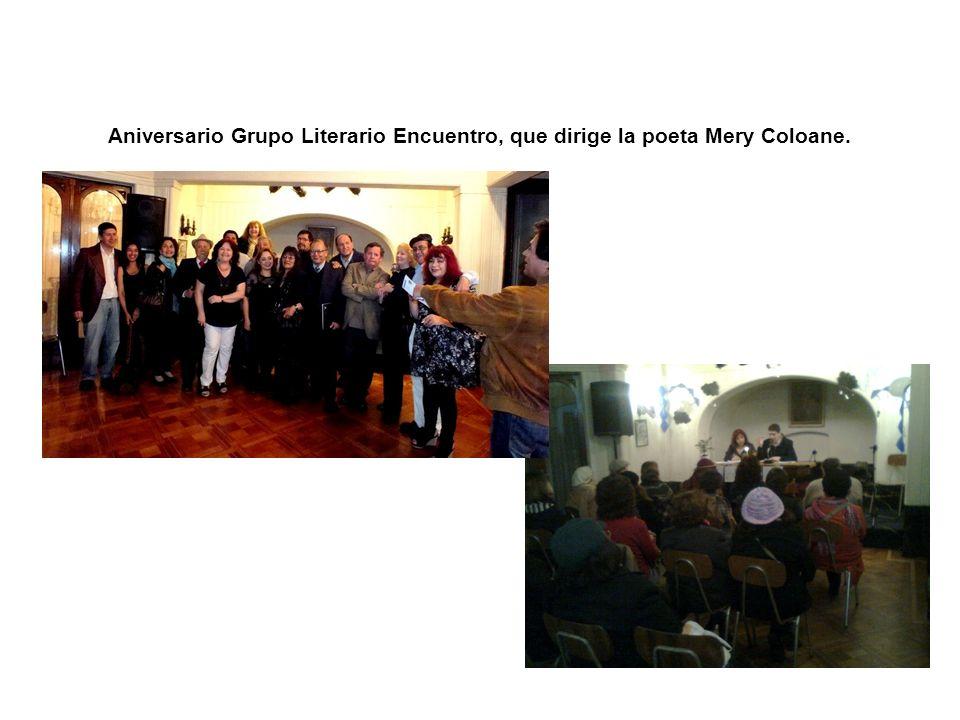 Aniversario Grupo Literario Encuentro, que dirige la poeta Mery Coloane.