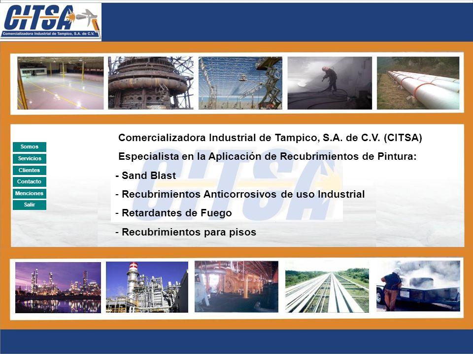 Anterior Salir Clientes 2002RECUBRIMIENTO ANTICORROSIVO, Y AISLAMIENTO TERMICO A TUBERÍAS LOCALIZADAS EN ENCAMADOS DE LA AVENIDA 5 DE LA REFINERÍA MADERO.