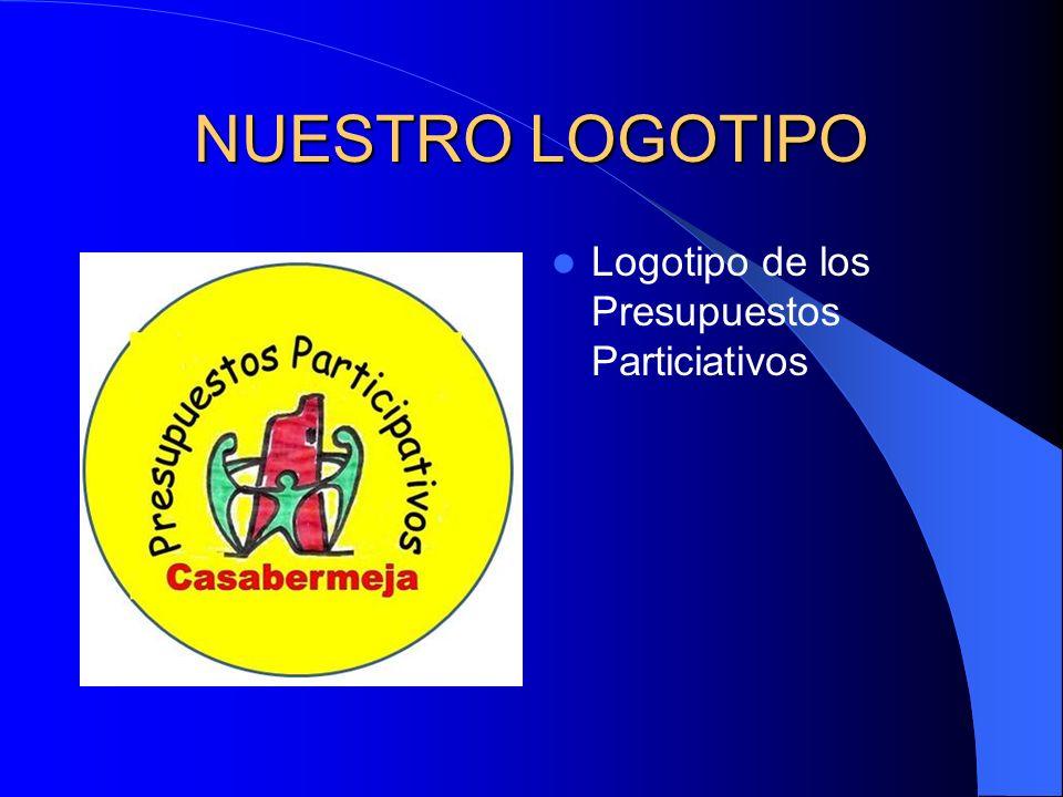 NUESTRO LOGOTIPO Logotipo de los Presupuestos Particiativos