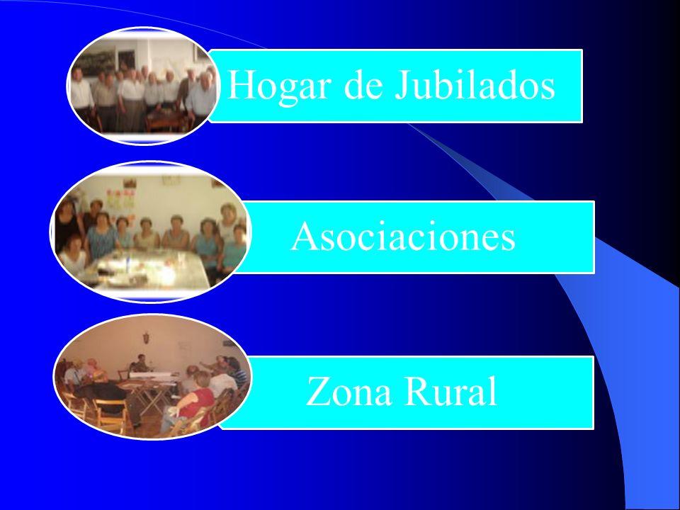 Hogar de Jubilados Asociaciones Zona Rural