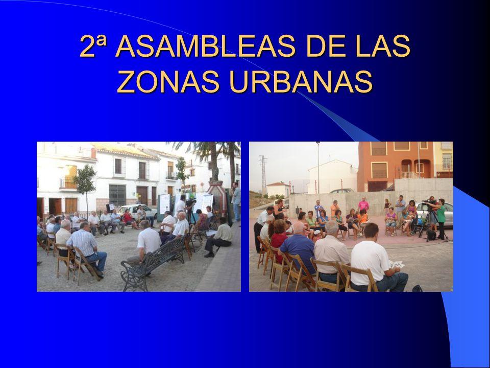 2ª ASAMBLEAS DE LAS ZONAS URBANAS
