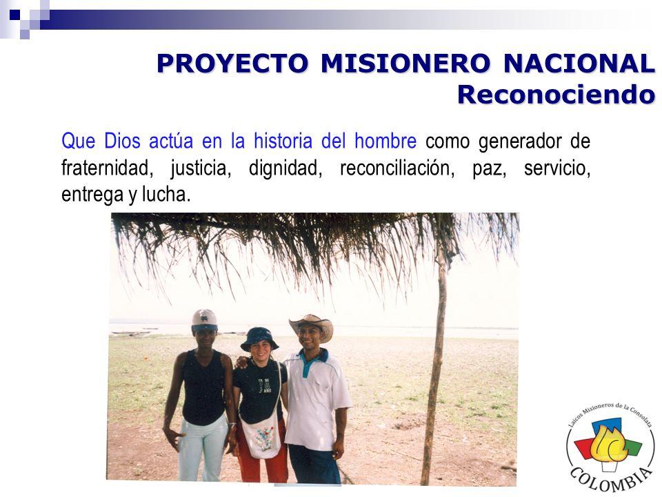 La situación de desigualdad social, complejidad geográfica y extensión física del territorio Colombiano, convierten a nuestro país en un lugar de misión, para ir más allá de las fronteras de las comunidades locales.