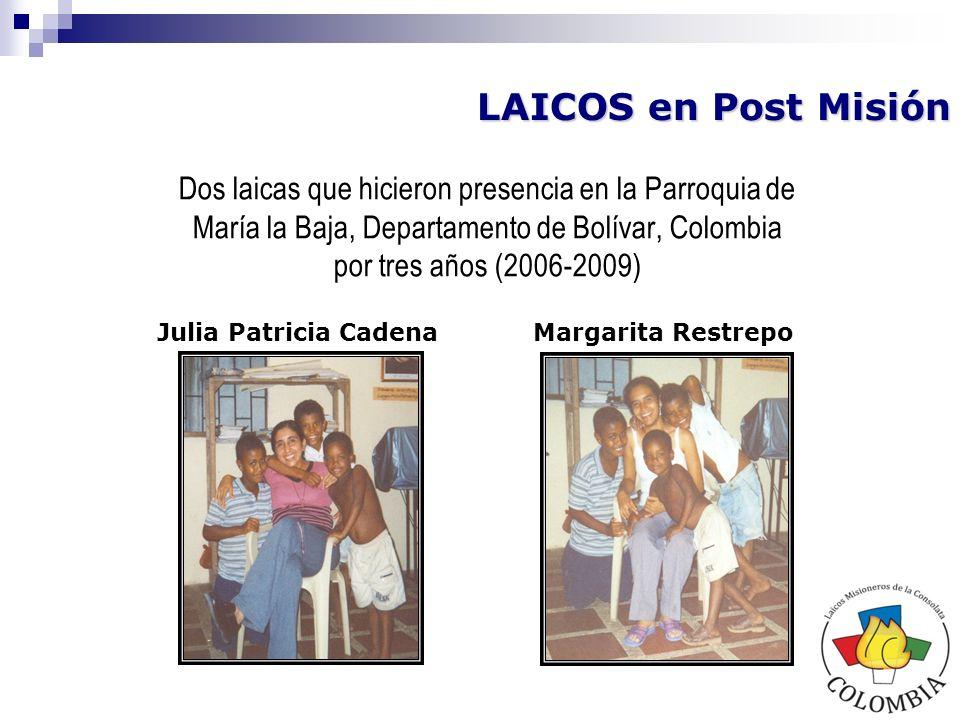 En San Francisco, Cauca Colombia Familia Parolini Provenientes de Italia LMC de otras Regiones que estuvieron en Misión en la Región Colombia - Ecuador En Guayaquil, Ecuador Corina y Mattia Provenientes de Italia