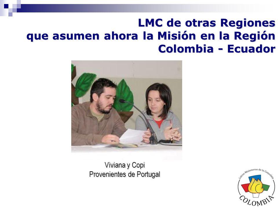 La dificultad principal aparece por la falta de tiempo disponible, por parte de los LMC, para las actividades tanto organizativas como misioneras, considerando que todos los laicos trabajan al servicio de empresas o entidades.