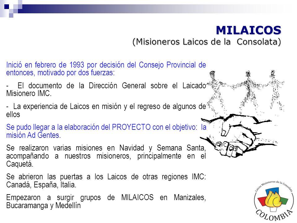 Proceso hoy Colombia Laicos Misioneros de la Consolata Colombia