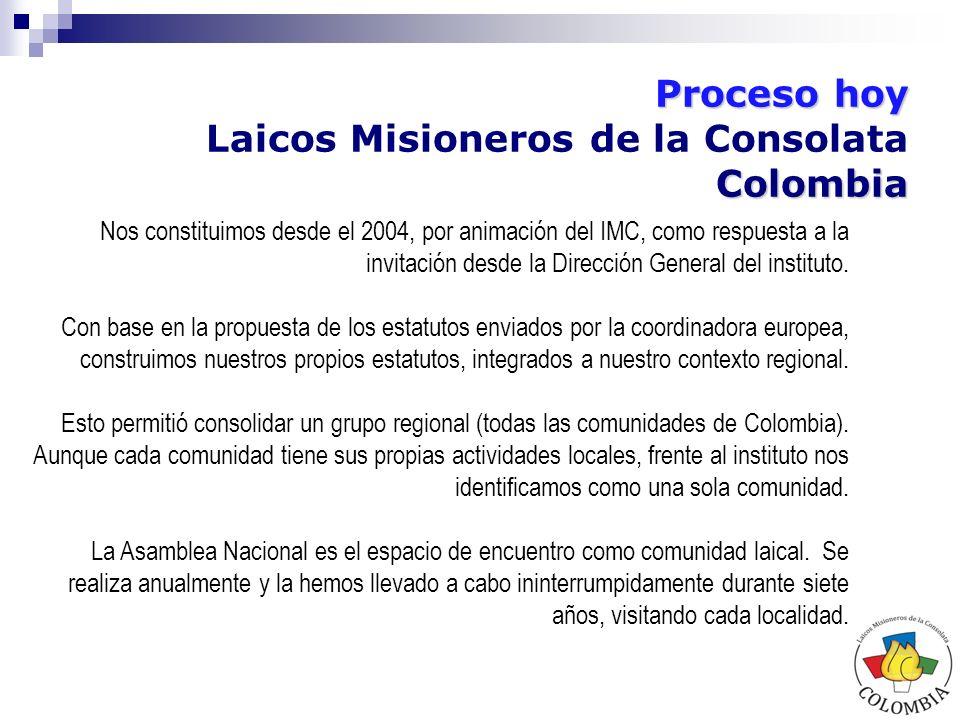 Colombia Laicos Misioneros de la Consolata.