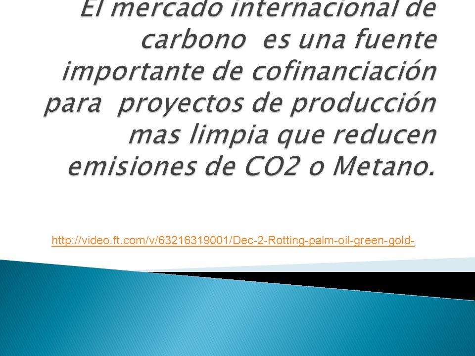 Comisión Económica Europea: Prepara prohibición de la importación para cumplimiento en EU ETS (2011- 2020) Aumentará la demanda por Metano y Energia Renovable UNFCCC Junta Ejecutiva – Panel de Metodologías MDL: Corrección metodológica reducirá oferta 10- 20%