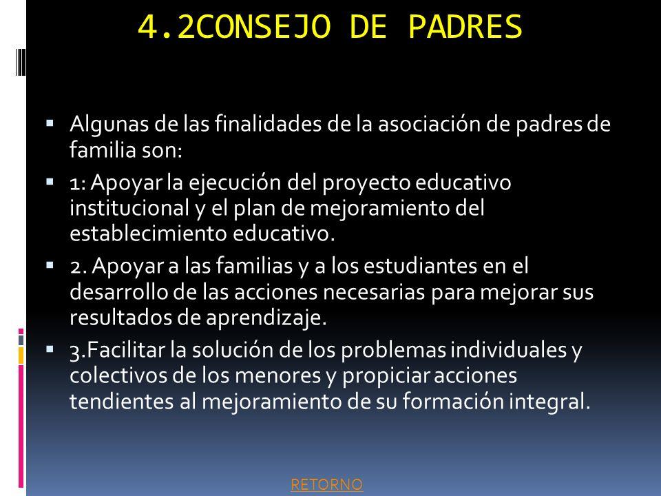 4.1PACTO DE CONVIVENCIA En el pacto de convivencia del CEY se establecen los puntos comunes de entendimiento para proceder en forma constructiva y par