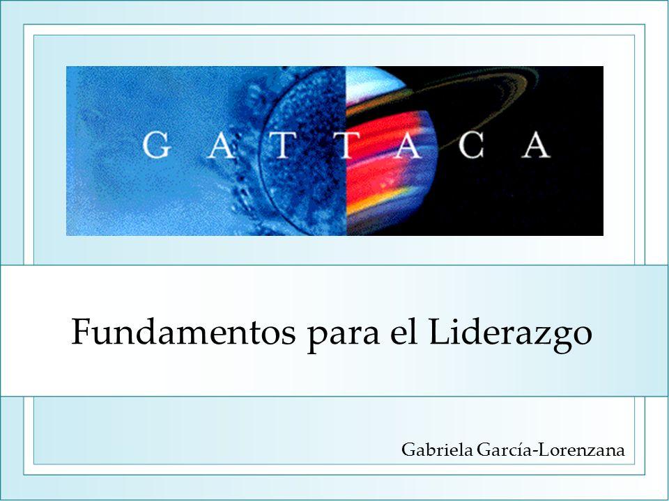 Fundamentos para el Liderazgo Gabriela García-Lorenzana