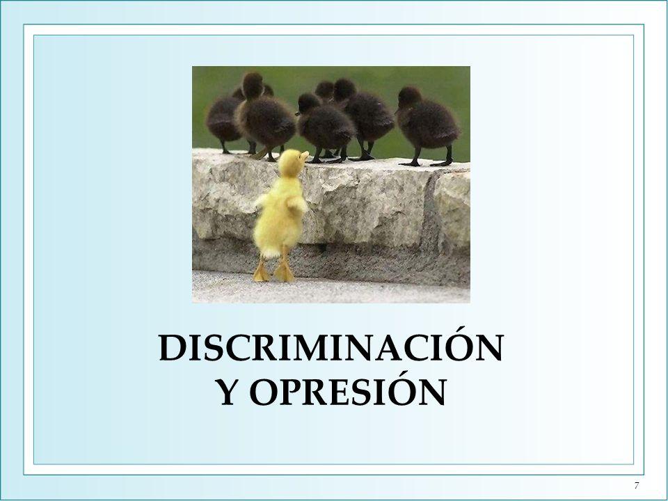 DISCRIMINACIÓN Y OPRESIÓN 7