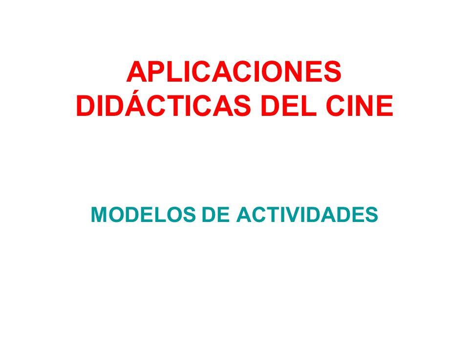 Facilitar al alumnado el título de la película, el país de procedencia, el año de producción y la duración.