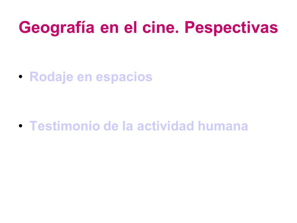 El espacio en el cine.