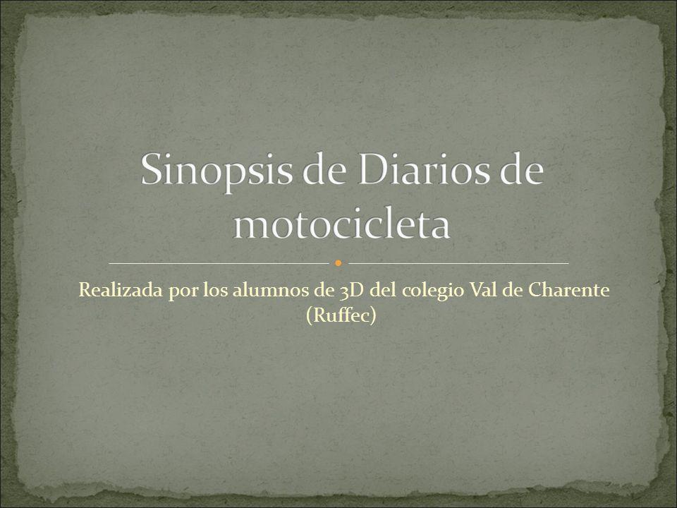 Alberto y Ernesto son dos médicos, salen de Buenos Aires en moto, el 4 de enero 1952.