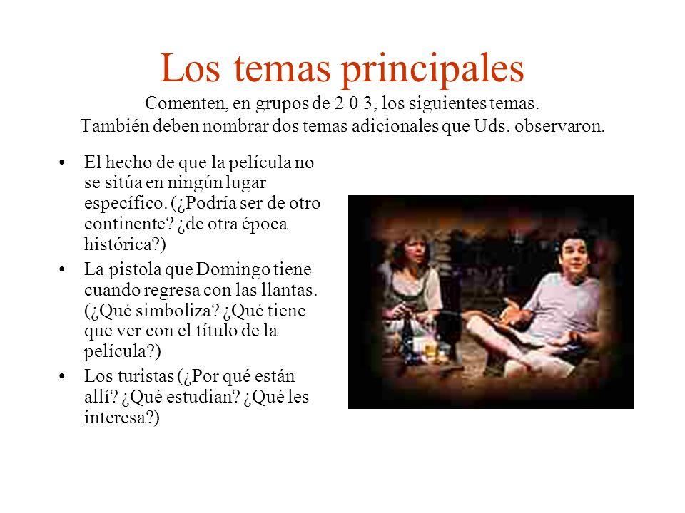 Temas principales 2 La lengua.(¿Representa una barrera entre la gente.