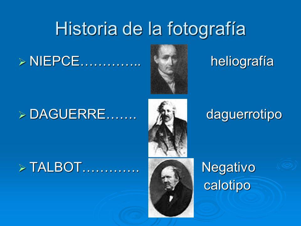 Historia de la fotografía NIEPCE………….. heliografía NIEPCE…………..