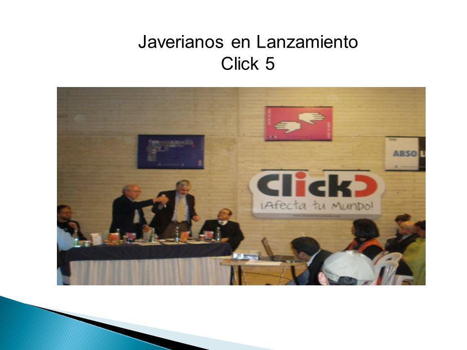 Javerianos en Lanzamiento Click 5