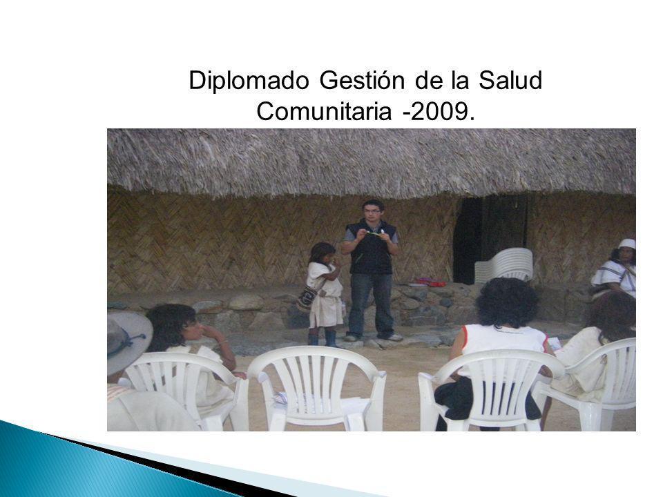 Diplomado Gestión de la Salud Comunitaria -2009.