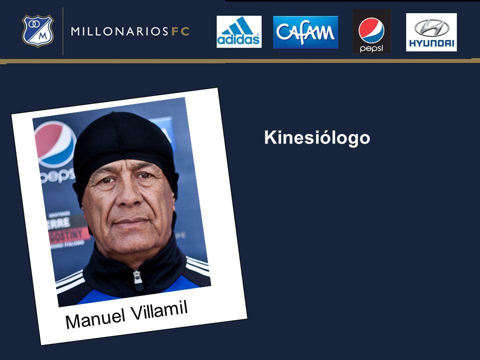 Manuel Villamil Kinesiólogo