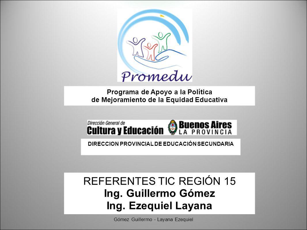 Agregamos los títulos que deseamos Gómez Guillermo - Layana Ezequiel Pre-visualizamos