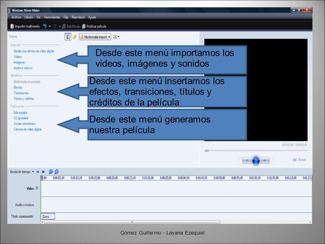 2.Abrimos la escala de tiempo Gómez Guillermo - Layana Ezequiel