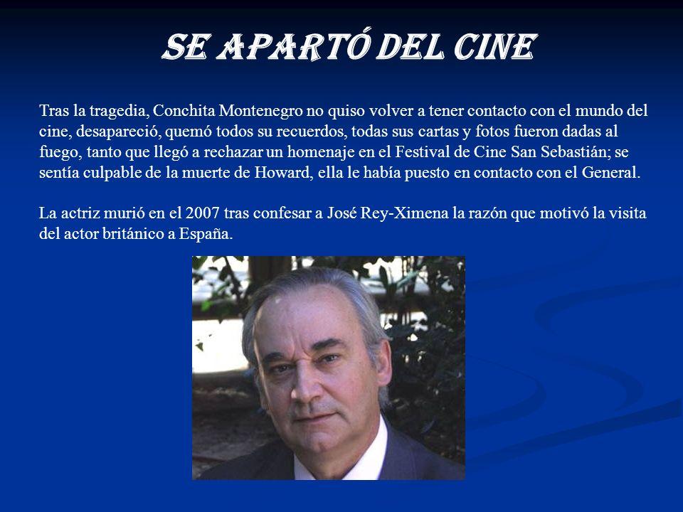 Durante estas conversaciones Rey-Ximena logró que Montenegro le explicara el verdadero motivo de la visita del actor a España. El gobierno británico q