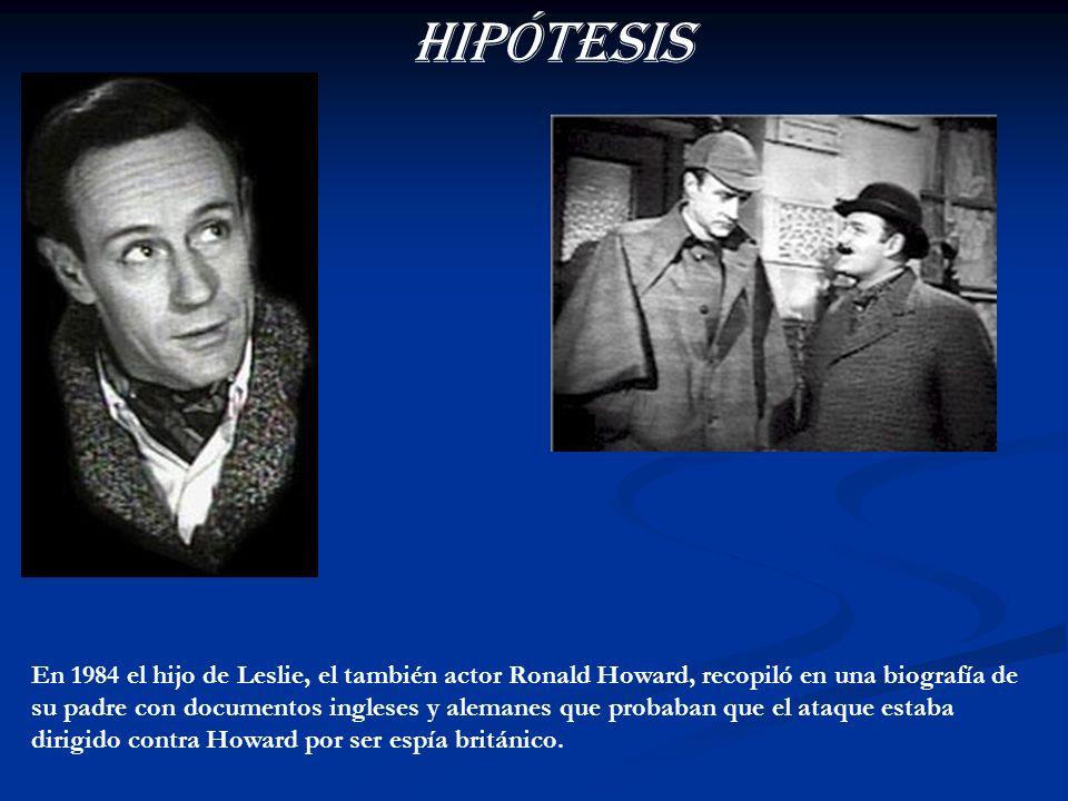 En un principio se aventuró la hipótesis de que los alemanes confundieron al representante de Leslie Howard, Alfred Chenhalls, con el primer ministro