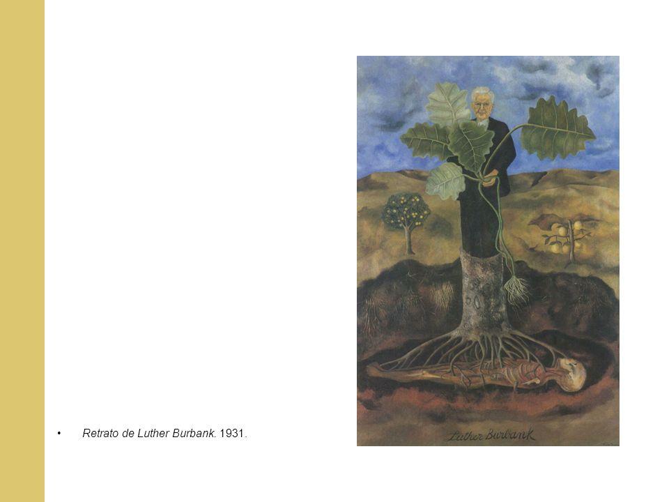 Retrato de Luther Burbank. 1931.
