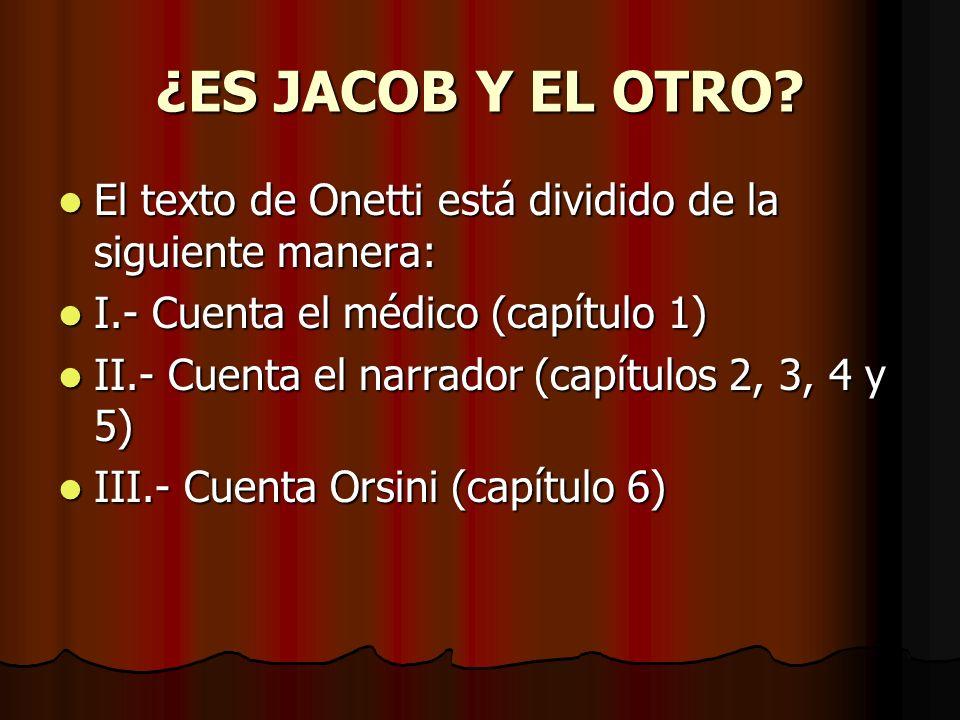 ¿ES JACOB Y EL OTRO.