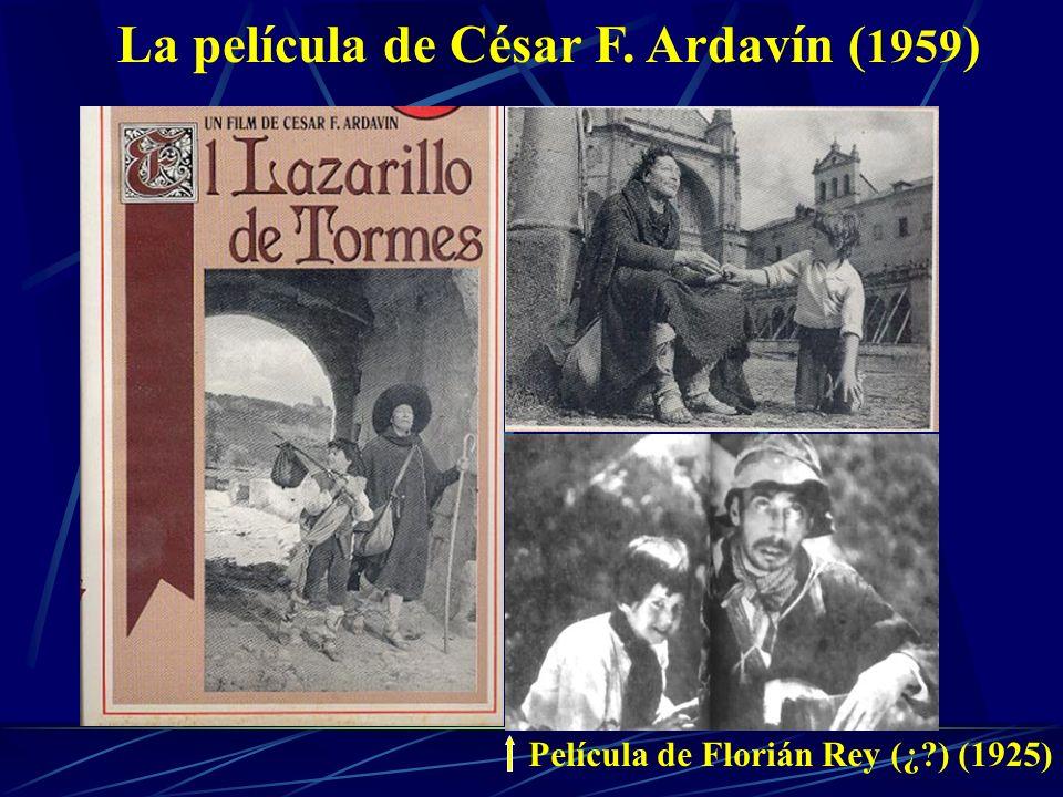 La película de César F. Ardavín ( 1959 ) Película de Florián Rey (¿ ) (1925)