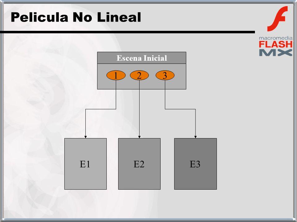 123 E1E2E3 Escena Inicial Pelicula No Lineal