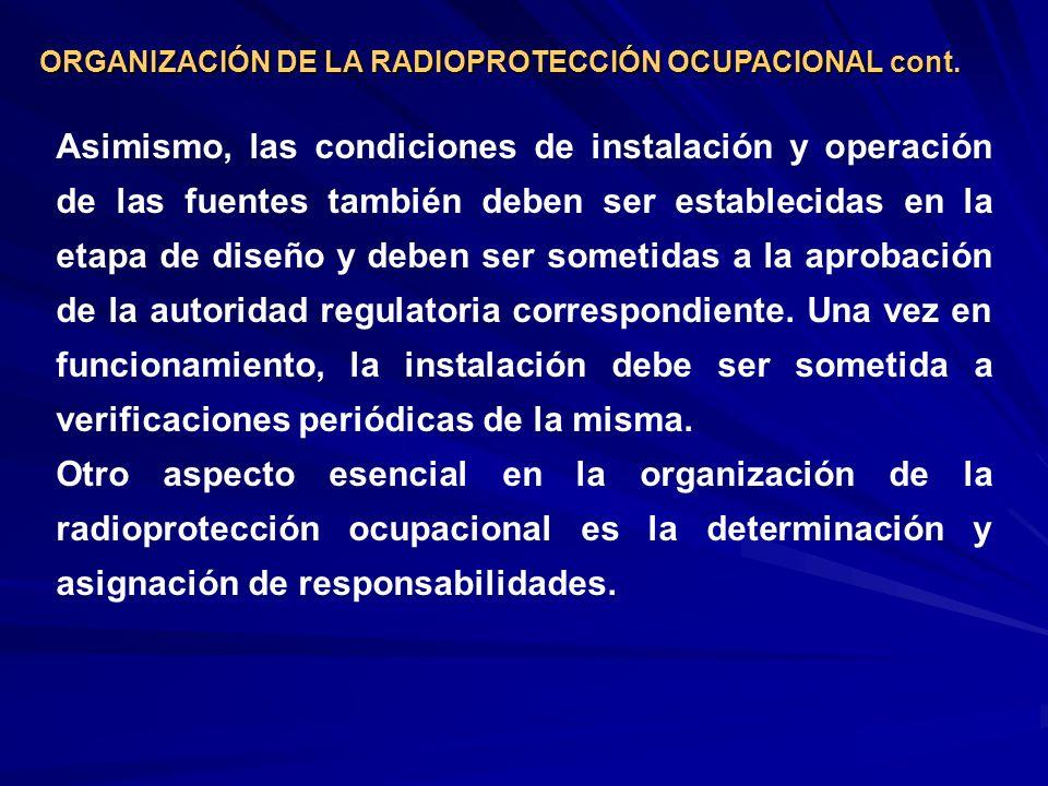 Zona supervisada Es todo lugar de trabajo que no ha sido designado como área controlada y en el que las condiciones radiológicas deben mantenerse bajo supervisión, aún cuando no se requieran rutinariamente procedimientos especiales.