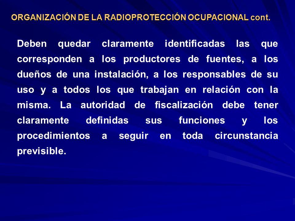 Tipos de radionucleidos emitidos: - Los que se desintegran rápidamente solo tienen interés local.