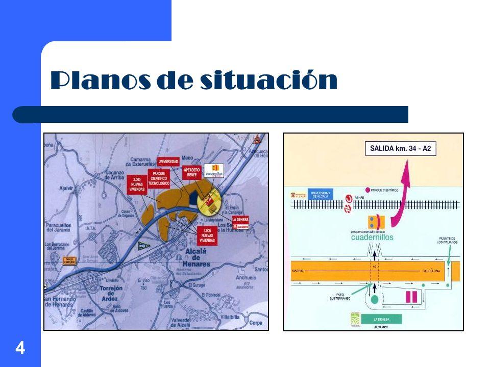 4 Planos de situación
