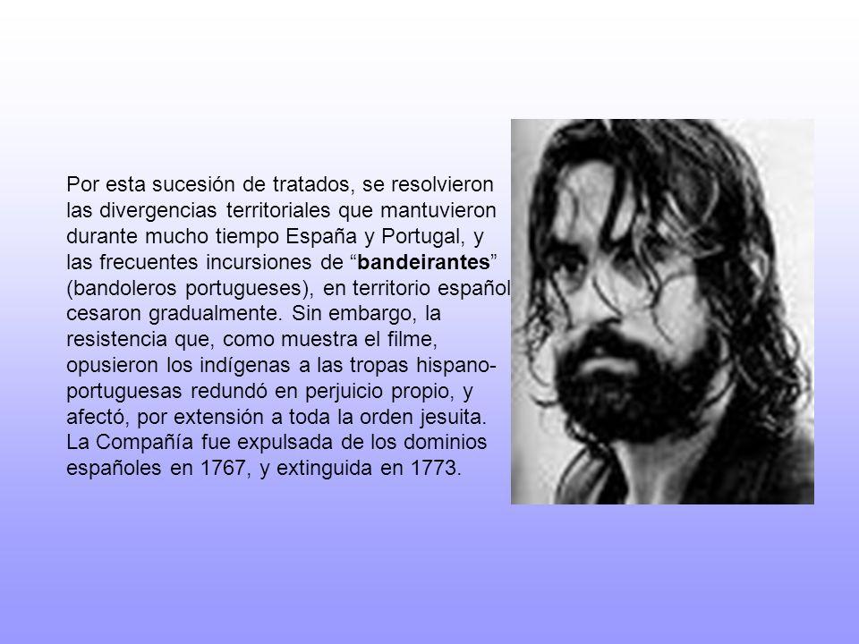 Por esta sucesión de tratados, se resolvieron las divergencias territoriales que mantuvieron durante mucho tiempo España y Portugal, y las frecuentes