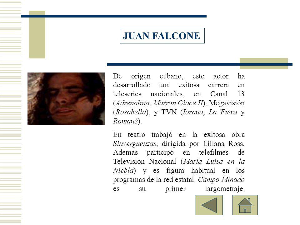 De origen cubano, este actor ha desarrollado una exitosa carrera en teleseries nacionales, en Canal 13 (Adrenalina, Marron Glace II), Megavisión (Rosa