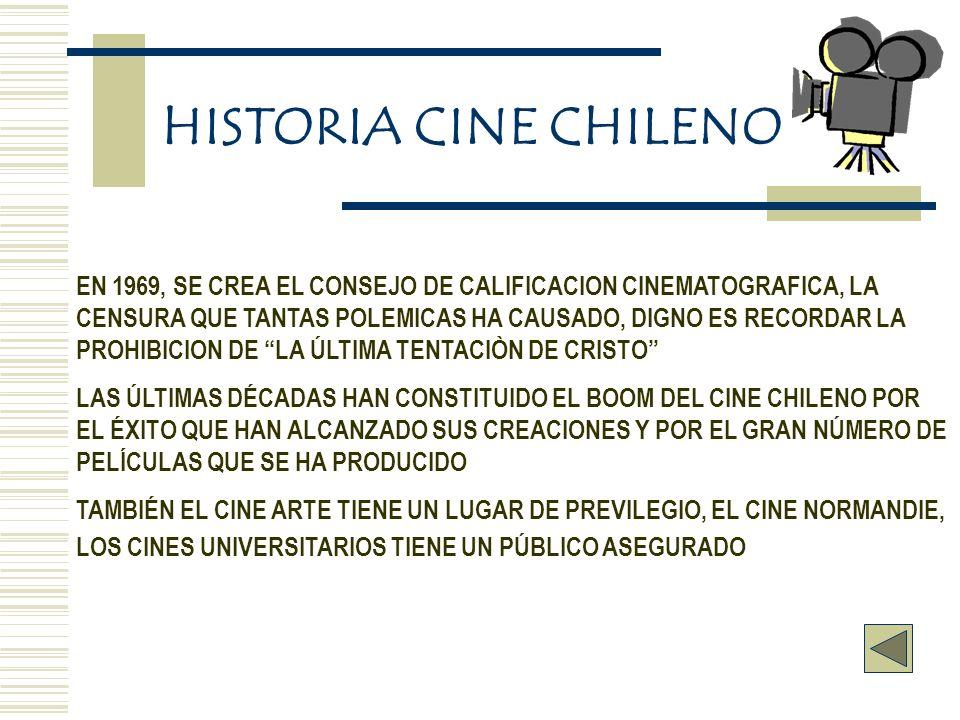 EN 1969, SE CREA EL CONSEJO DE CALIFICACION CINEMATOGRAFICA, LA CENSURA QUE TANTAS POLEMICAS HA CAUSADO, DIGNO ES RECORDAR LA PROHIBICION DE LA ÚLTIMA