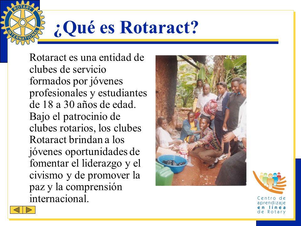 ¿Qué es Rotaract.