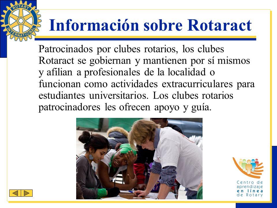 Recursos Los siguientes recursos están disponibles en el sitio web de RI (www.rotary.org): Sección de Rotaract (contiene publicaciones)Sección de Rotaract Personal a cargo de Rotaract (rotaract@rotary.org)Personal a cargo de Rotaract Centro de aprendizaje en línea de Rotary