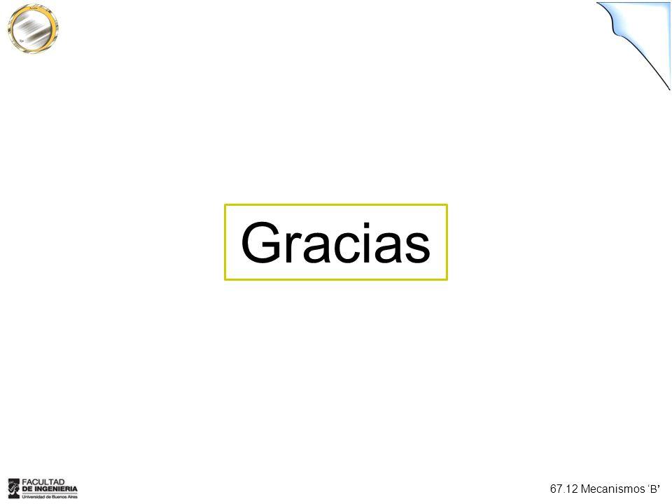 67.12 Mecanismos B Gracias