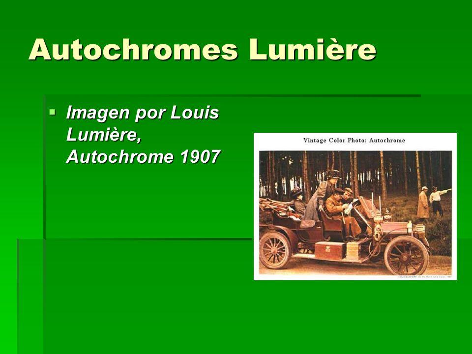 Autochromes Lumière Imagen por Louis Lumière, Autochrome 1907 Imagen por Louis Lumière, Autochrome 1907