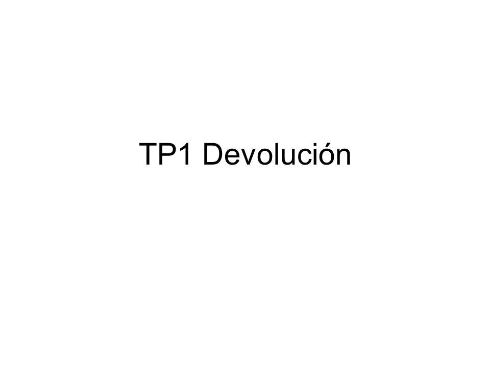 TP1 Devolución